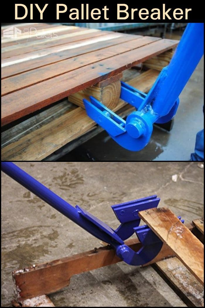 Make your own pallet breaker tool! #homemadetools