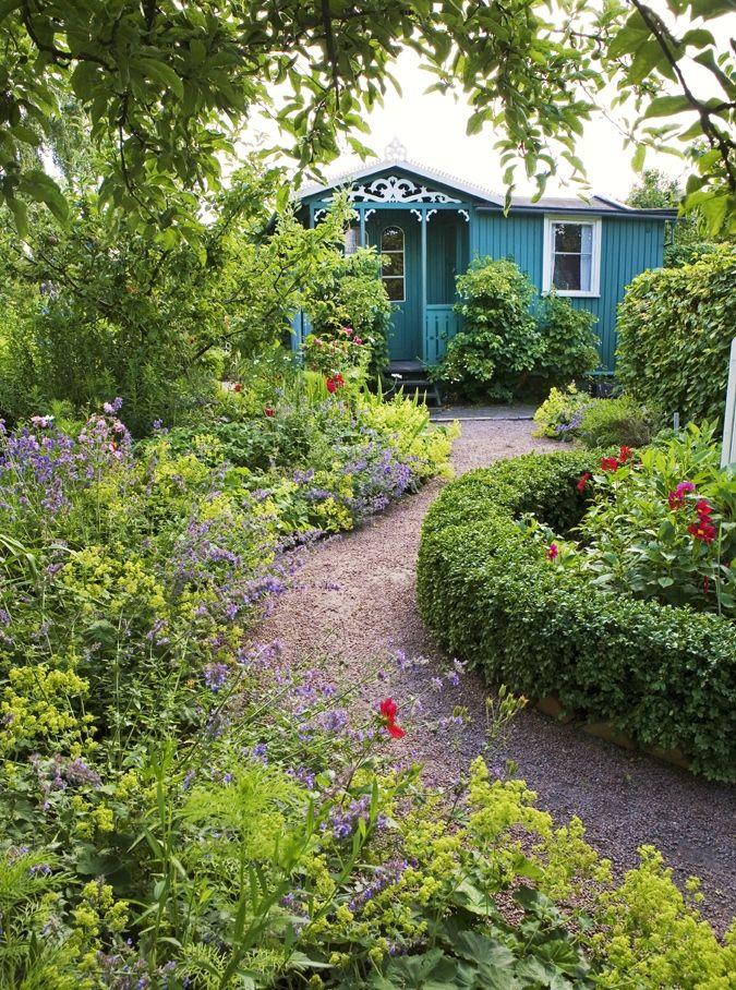 Elegant Romantically Beautiful Garden In Sweden | Interior Design Files