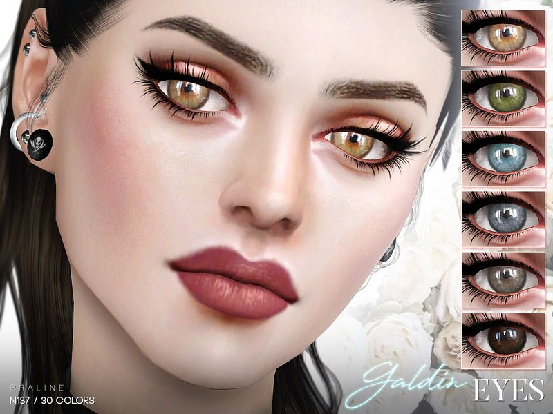Eyes in 30 colors  Found in TSR Category 'Sims 4 Eye Colors' | Sims