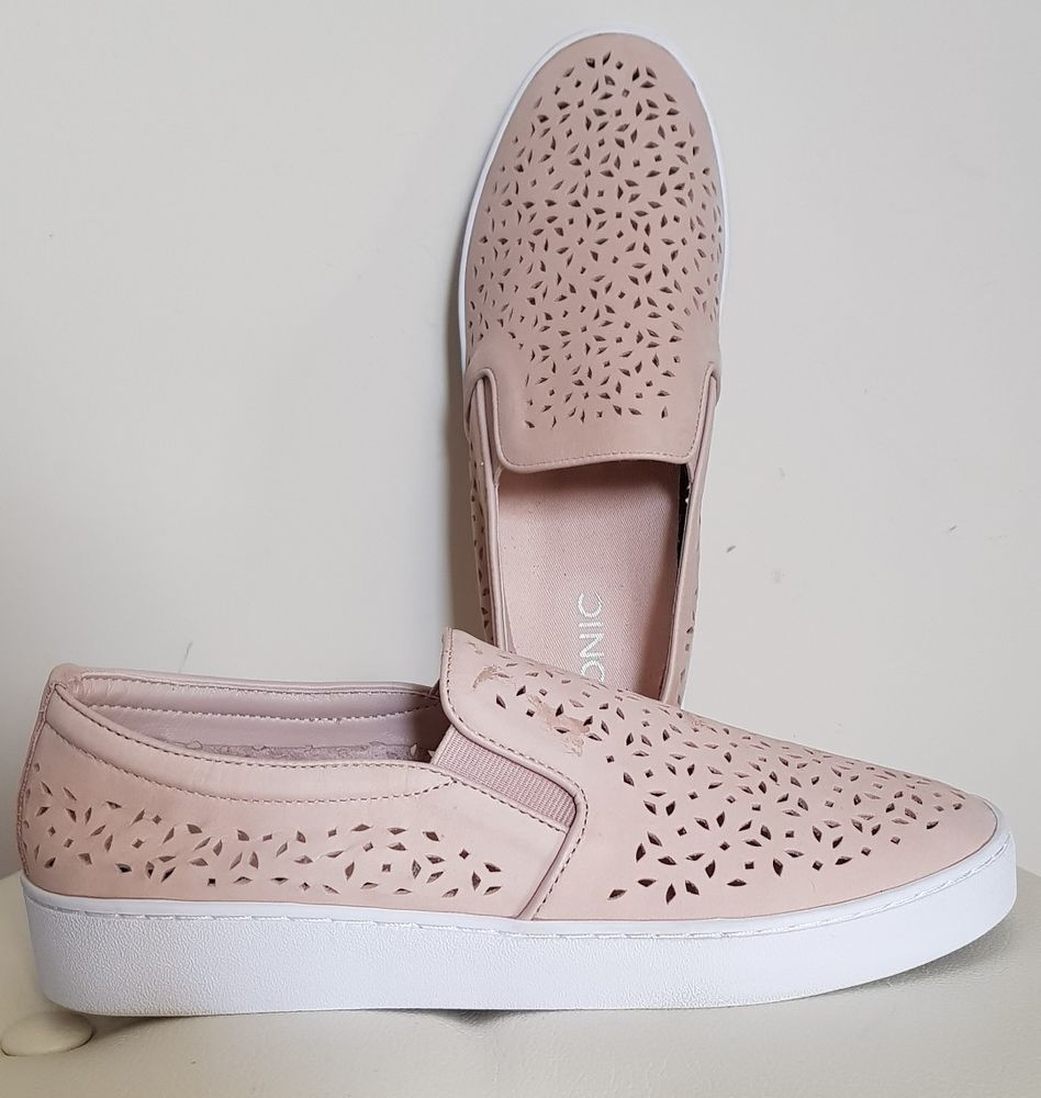 8d992d9a42a6 Vionic Orthotic Splendid Midi Perforated Suede Slip on Shoe