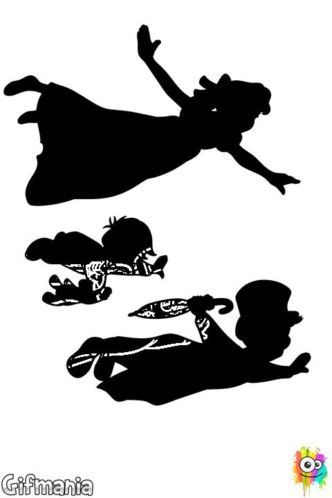 Wendy, Juan y Miguel Volando | Dibus e ilustraciones♥ | Pinterest ...
