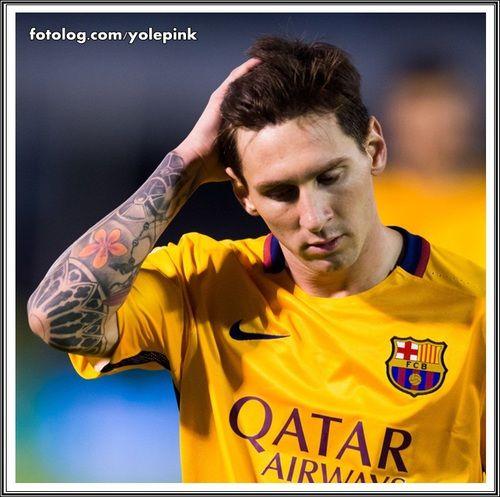 Lionel Messi : Olá, Ontem O Barça Enfrentou O Celta De
