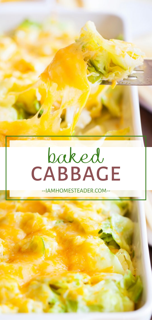 Photo of BAKED CABBAGE
