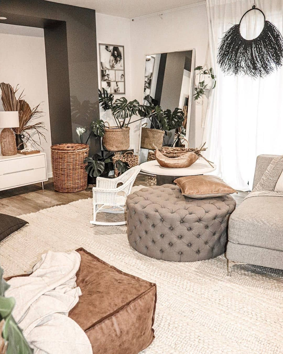 35 Large Living Room Ottoman Ideas In, Oversized Living Room Furniture