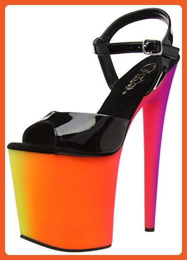 e8e66a89390 Pleaser RBOW809UV B NMC Women s Platform Dress Sandal