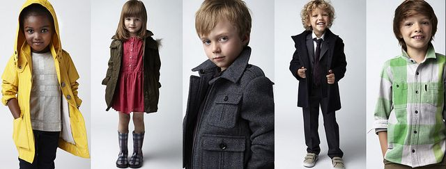Burberry Kids Spring 2011
