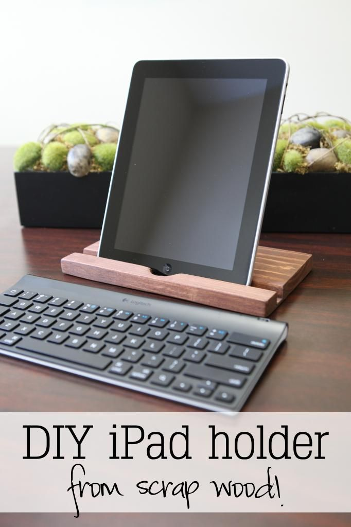 idad diy yes i can ipad st nder diy holz und ipad. Black Bedroom Furniture Sets. Home Design Ideas