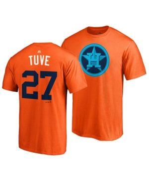 032d2fc688d Majestic Men s Jose Altuve Houston Astros Player s Weekend Name and Number  T-Shirt - Orange S