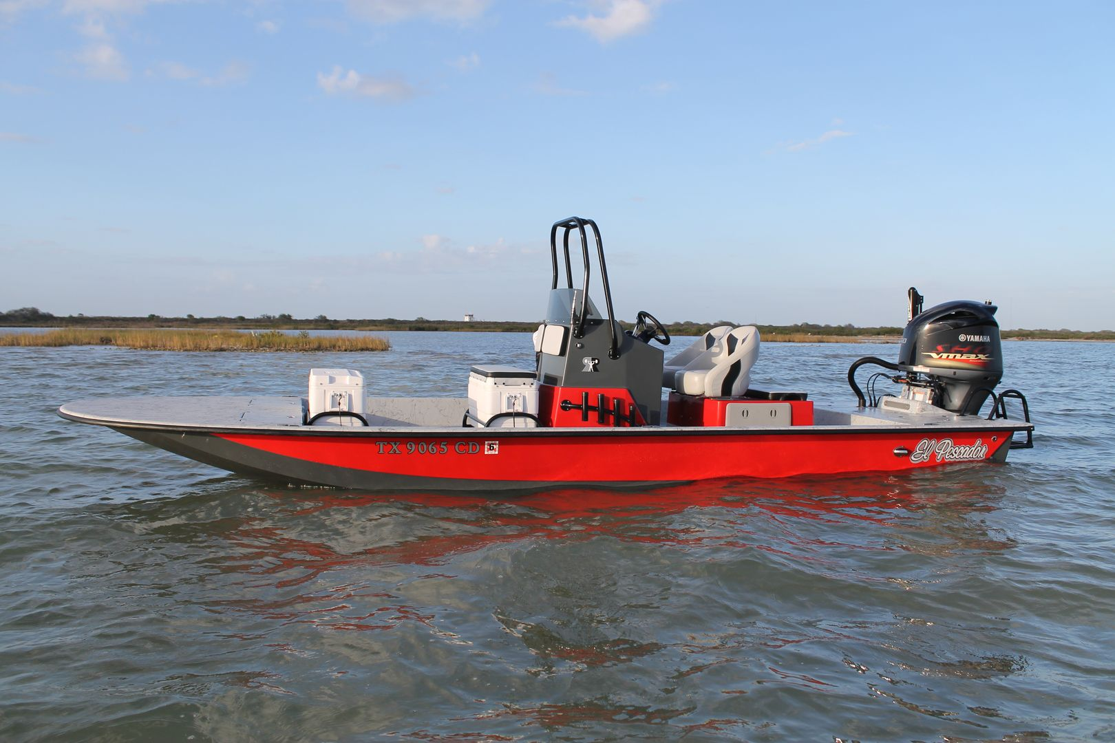 24 Cat (With images) | Shallow water boats, Fishing boats ...