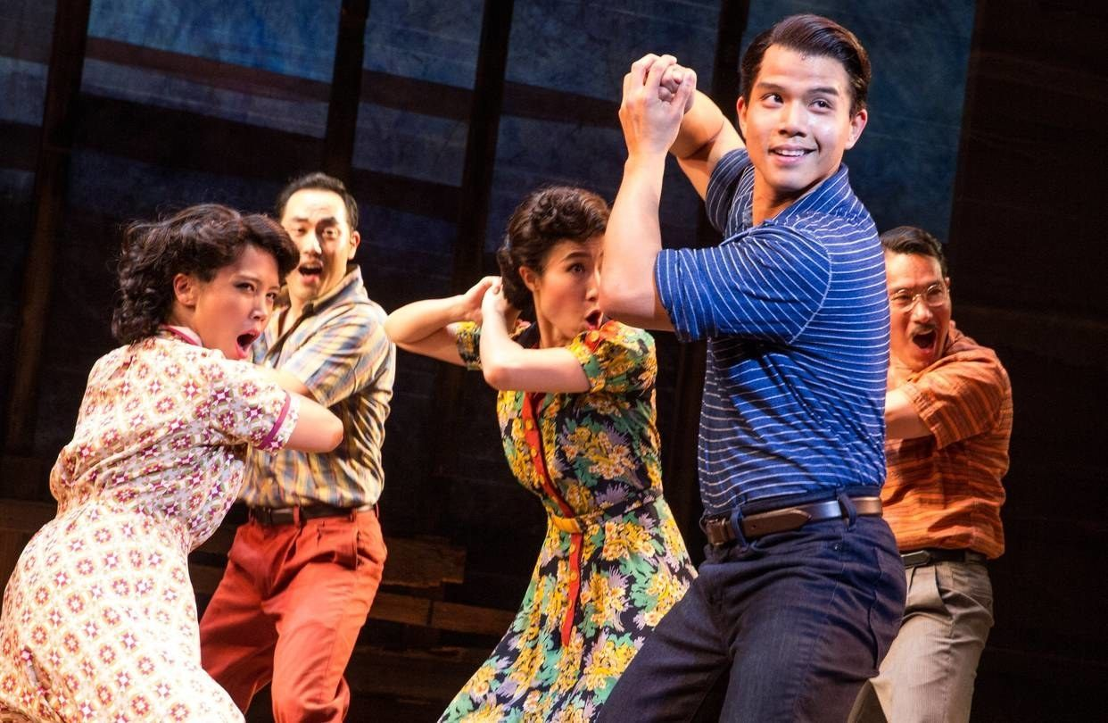 broadway shows asian