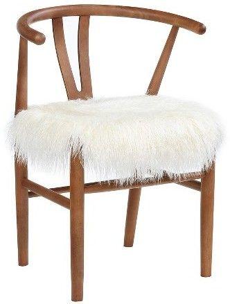 Threshold Wishbone Accent Chair White Threshold In
