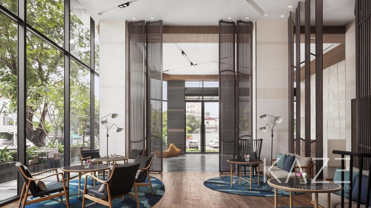 Hospitality Interior Design Project | Courtyard by Marriott Phnompenh