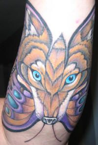1fc88bb55 Love this...Lupus is the latin for wolf, and the butterfly represents hope  (for a cure) this piece is stunning piecing the two together. If I got a  tatoo ...