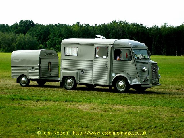 la locomotion en f te 2008 citro n hy tub camionnette with 2cv van trailer via flickr. Black Bedroom Furniture Sets. Home Design Ideas
