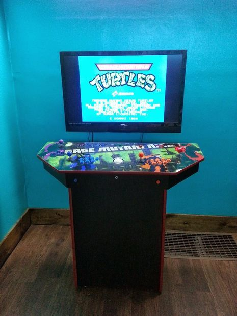 Arcade cabinet plans 4 player