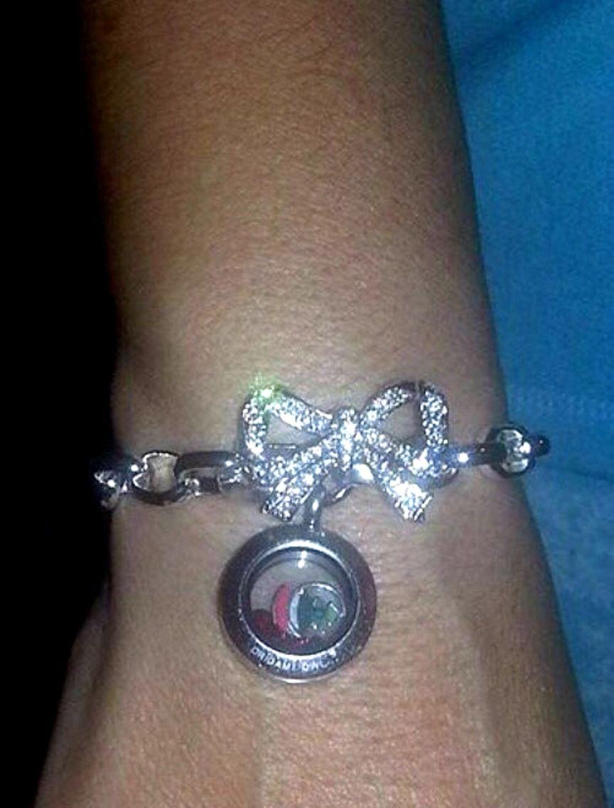 Origami Owl new link locket bracelets - pink crystal silver ... | 1136x864