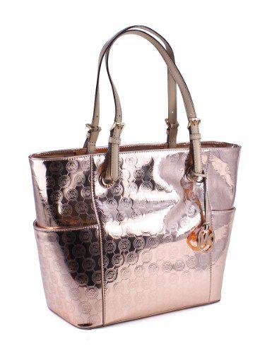 6cdf8b796989 Michael Kors Jet Set E W Signature Women s Handbag « Better product Adds  for any home