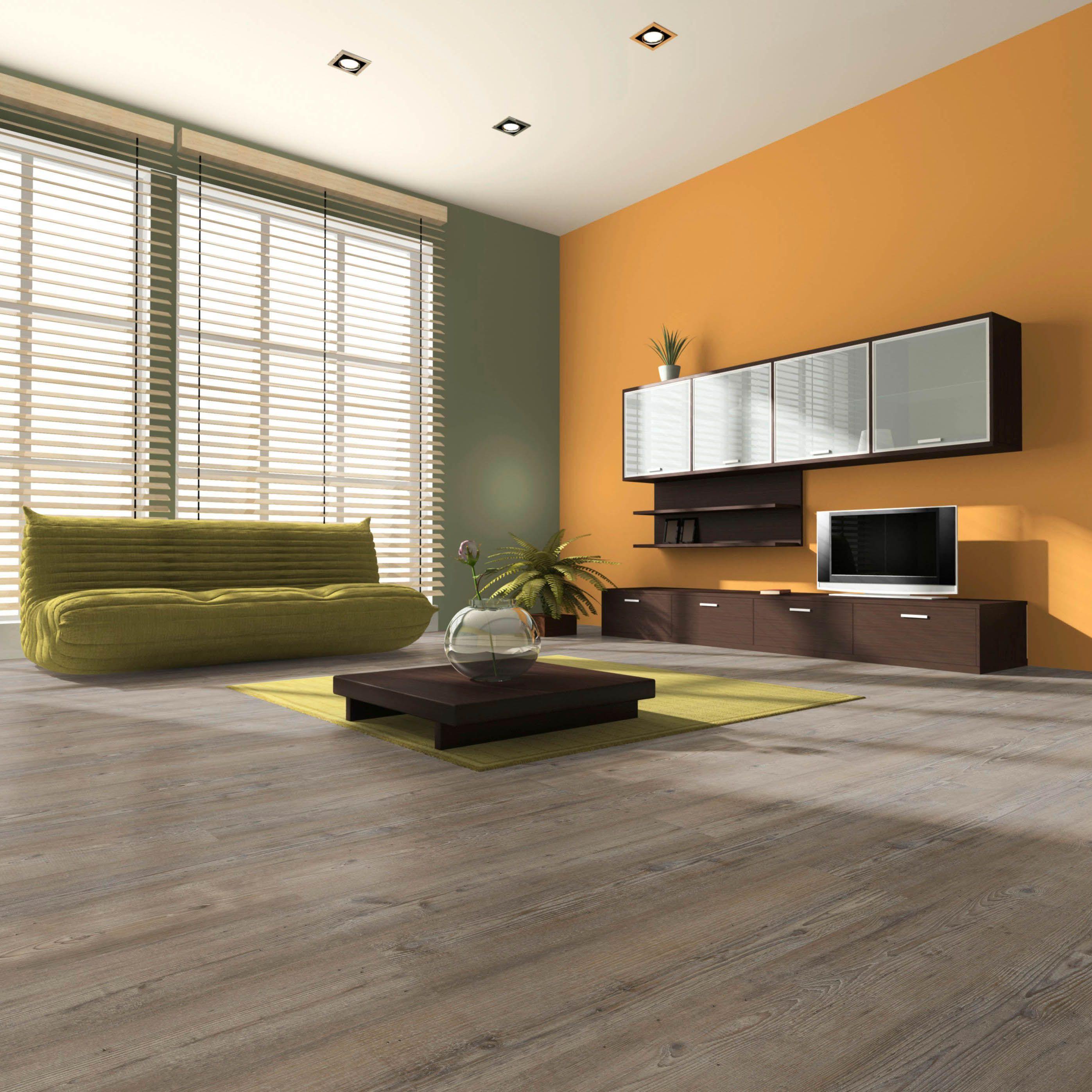 Belcanto Smoked Pine Effect Laminate Flooring 1.99 m² Pack ...