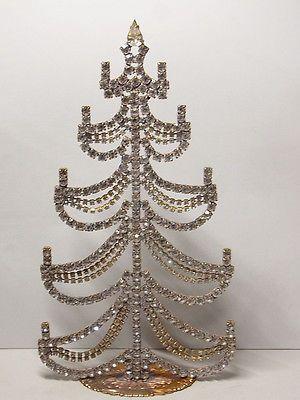 Christbaum aufsteller weihnachtsbaum christmas tree strass for Pinterest weihnachtsbaum