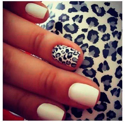 15 Dramatic Nail Designs For Short Nails Nail Designs Short Nail Designs Leopard Nails