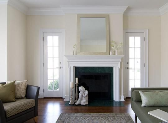 Best Benjamin Moore S Linen White Shall Be The Hallway Color 400 x 300
