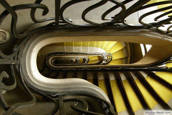 Descente D\'Escalier Intérieur, Immeuble Lavirotte