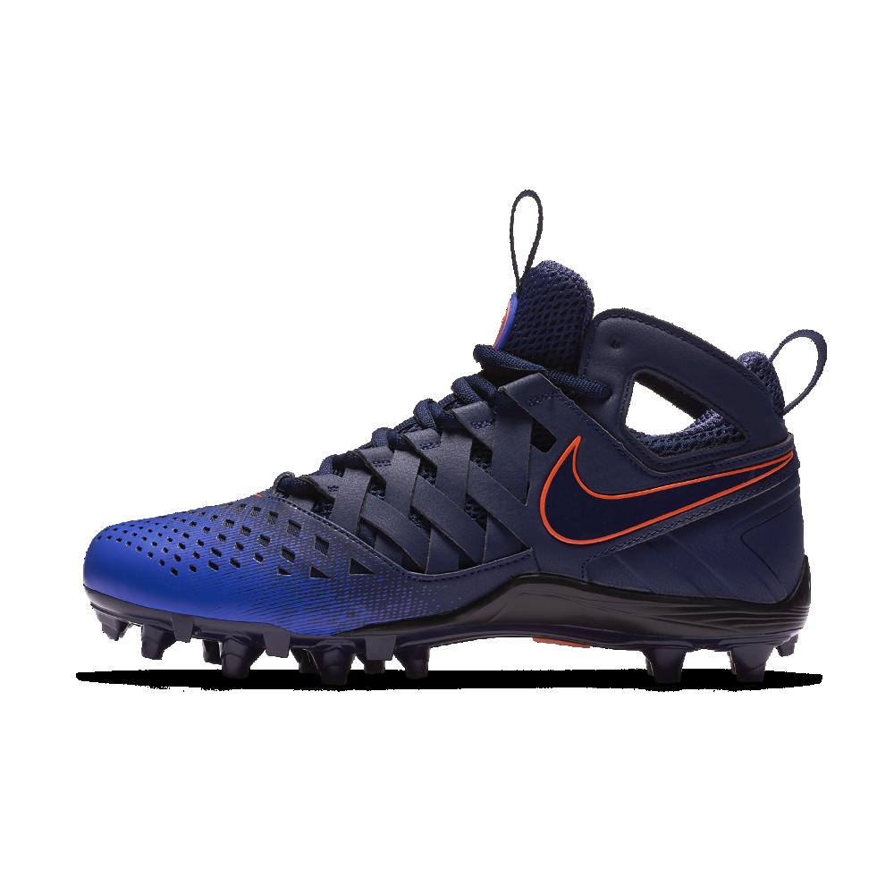 67500b3cfcc7 Nike Huarache V LAX Men s Lacrosse Cleat Size 12.5 (Blue) - Clearance Sale