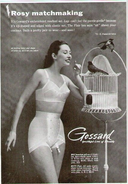 ads vintage girdle