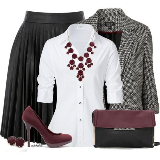 Workwear Fashion Outfits 2012   School Days