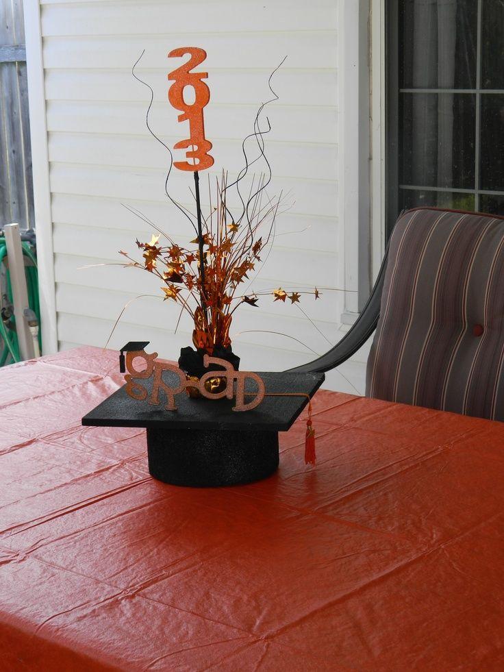 diy graduation party ideas diy graduation centerpiece. Black Bedroom Furniture Sets. Home Design Ideas