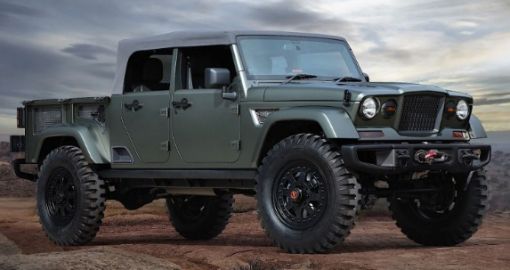 2021 Jeep Wrangler Pickup Truck Price