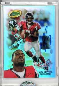 eTopps in Hand Michael Vick Hand Signed Autograph COA Falcons Playoff Event 2004 | eBay