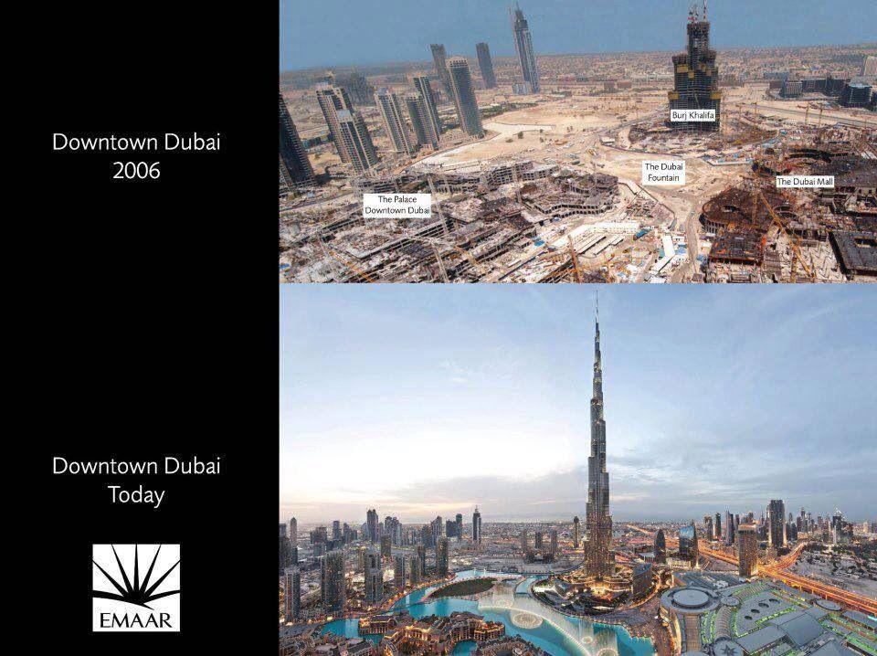Before & After Dubai, Dubai mall, World cities