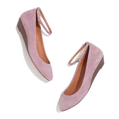 23162c1f9d The Ankle Strap Mini Wedge // love the lavender color | W e a r ...