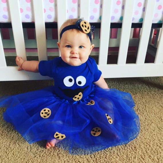 Baby cookie monster costume b826cd442f51