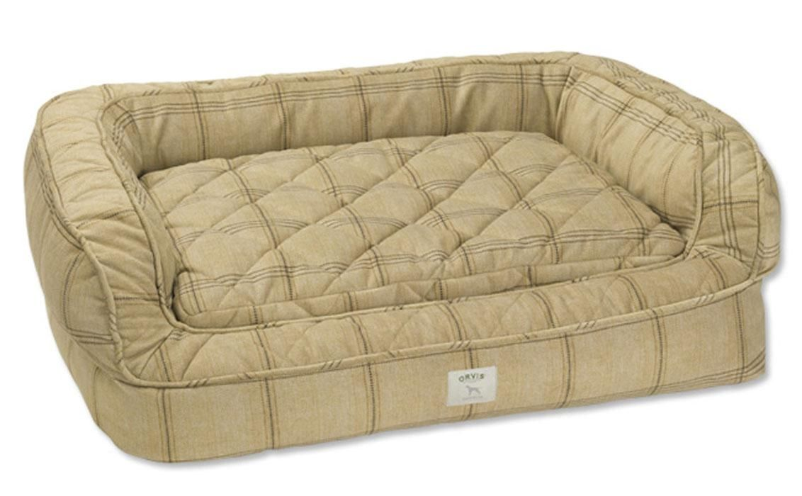 Decorate like royalty: Inside Will and Kate's apartment. Lounger Deep Dish dog bed from British company Orvis. Deep dish dog bed, orvis.co.uk, $271.