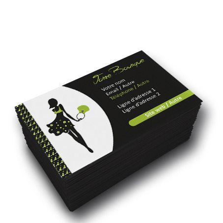 Carte De Visite Boutique Mode Et Accessoires Avatar Business Cards