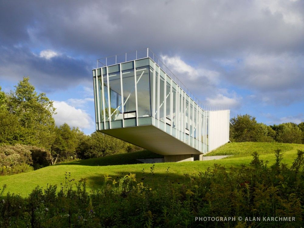 House at Tangelwood  Located, West Stockbridge, Massachusetts  Architect: Schwartz Sliver Architects