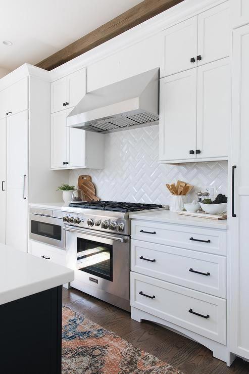 63+ White Kitchen Designs You Haven't Seen Yet #kitchen in ...