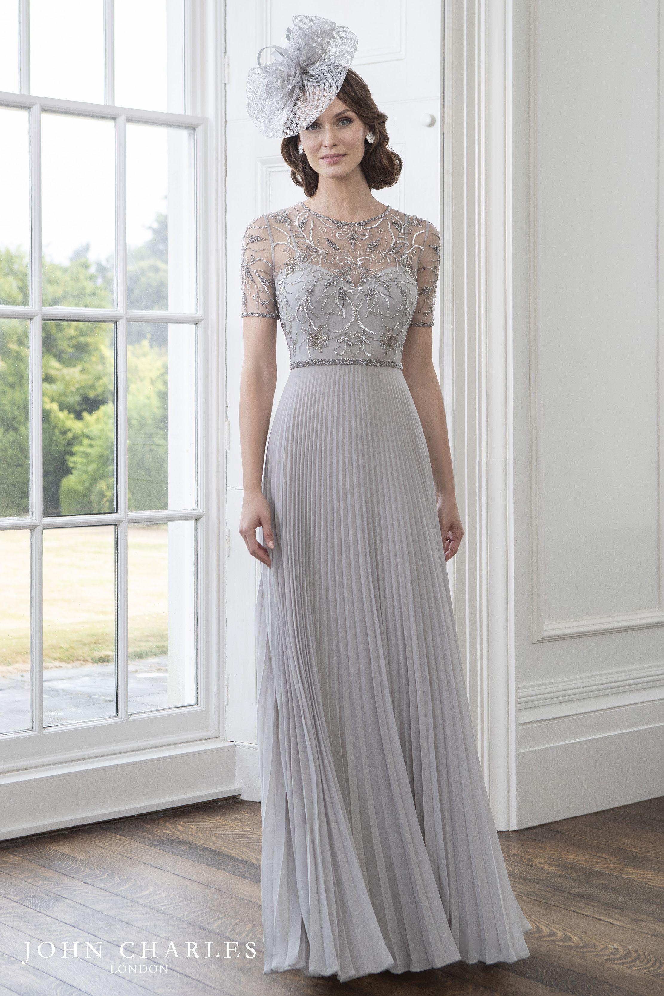 John Charles Spring Summer 2019 Collection Bride Dress Wedding Dresses Simple Mother Of The Bride Dresses