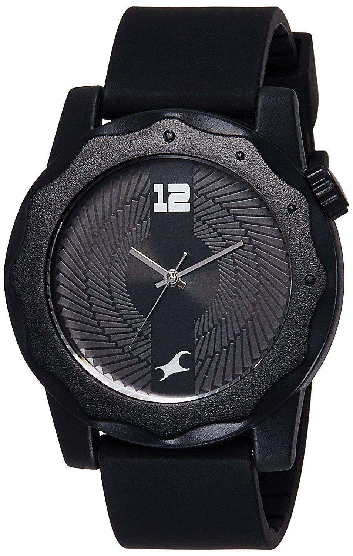 Buy Fastrack Analog Black Dial Men's Watch 38022PP03