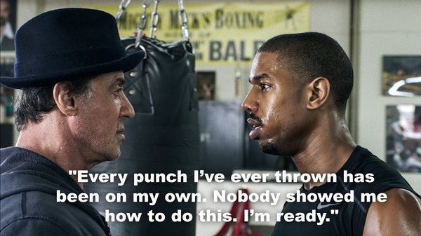 Creed Quotes Entrancing Image Result For Creed Movie Quotes  Boxing And In Life  Pinterest