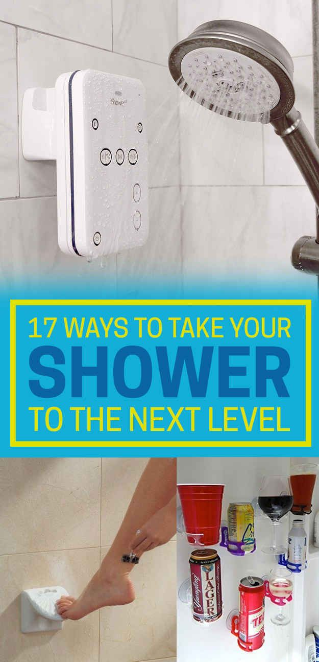 17 Ways To Make Your Shower The Best Place On Earth