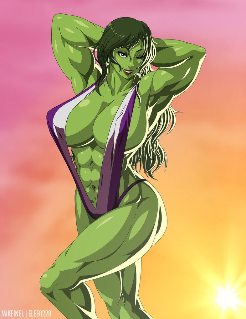 She hulk hot yuri, young girls nude on the beach