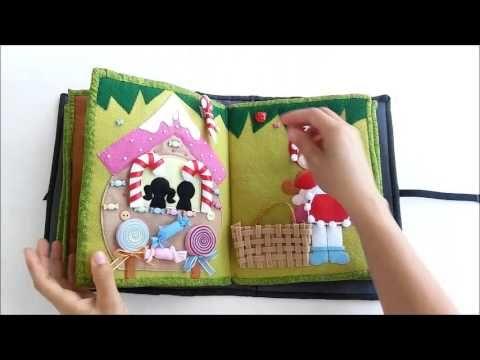 Quiet Book Estórias Infantis - Mãos Artesãs | книжки- развивашки ...