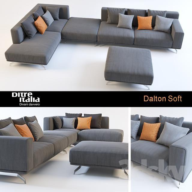 Divani Design Low Cost.Sofa Dalton Soft Ditre Italia Sofa Divani Design Sofa Factory