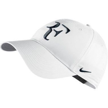 Cachucha unisex de Tenis Roger Federer con banda ajustable. Color  Blanco  Marca  Nike Encuentra precios y detalles en Magniplaza.com 4f334936a2d