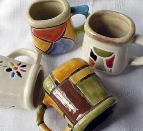 Cer mica artesanal pa s argentina objeto mates para for Materiales para ceramica artesanal