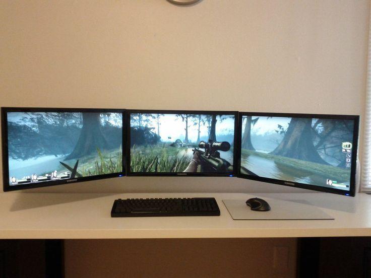astounding design gaming setup desk. Gaming setup Super Clean gaming Setup  Stuff to Buy Pinterest