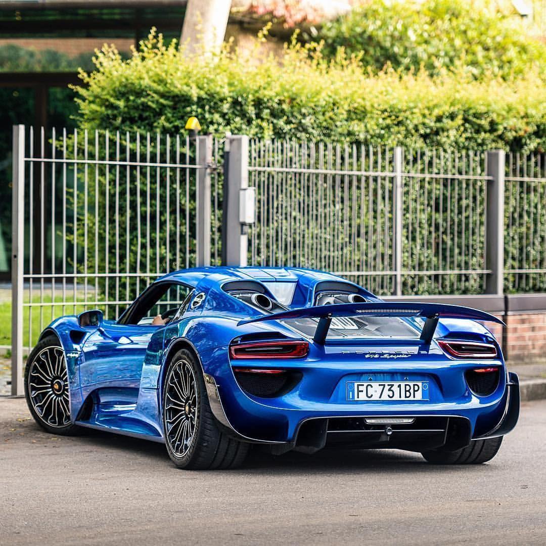 Horacio Pagani S Porsche 918 Spyder Weissach Super Cars I Will